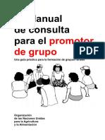 FAO Manual de Consulta Para El Promotor de Grupo