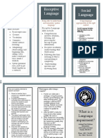 language brochure