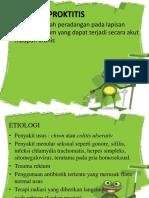 proktitis