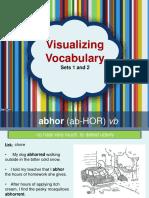 visualizing vocabulary 1-10  11-20