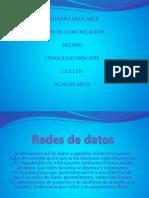diapositiva de redes de comunicacion