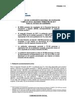 Resultados de la Encuesta Nacional de Ocupación y Empleo para el Estado de Guerrero