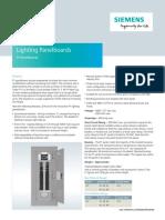 Siemens P1 Panelboards