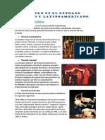 Teatro en El Entorno Peruano y Latinoamericano