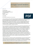 ILCC Letter to Preckwinkle