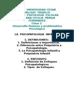 Clase 2- Problemática Psicoplógica Infantil Cecilia Pareja Imp Yami