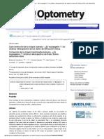 Sub-corrección de La Miopía Humana - ¿Es Myopigenic __ Un Análisis Retrospectivo de Los Datos de Refracción Clínica _ Diario de Optometría