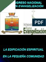 1 La Edificacion Espiritual en La Pequeña Comunidad