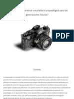 Proyecto - Arqueologia Futura