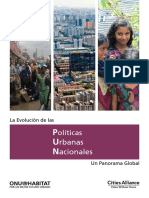 Evolución Políticas Urbanas Nacionales