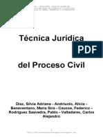 AA VV - Técnica Jurídica Del Proceso Civil