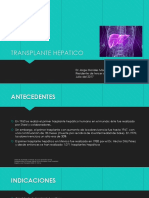 Transplante hepatico