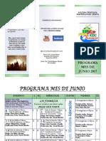 JUNIO Programa 1