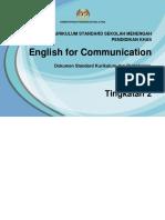 Dskp Kssm Pkhas English for Communication t2 19.5.2016