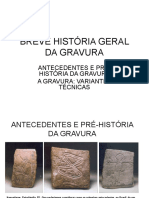 Breve História Geral Da Gravura