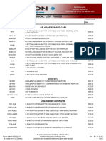 2015 Civacon Mechanical List Pricing