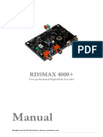 Manual RDSMAX4000dsp En