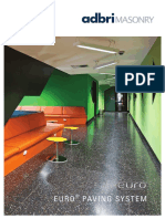 Adbri Masonry Euro Brochure 2016V2