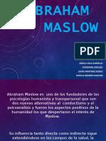 Abraham Maslow Humanismo (1)