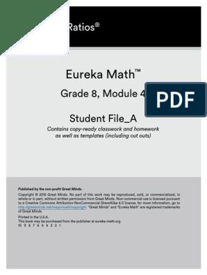 gr 8 module 4 linear equations stu wkbk | Equations