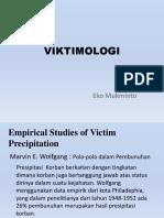 VIKTIMOLOGI M