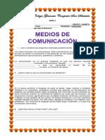 GUÍA DE MEDIOS DE COMUNICACIÓN