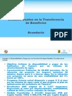 Estudios Usados en La Transferencia de Beneficios - Acueduc
