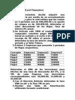 Ejercicios de Excel Financiero