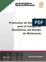 Protocolos de Seguridad Cobaem 2016