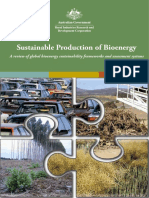 Bioenergy Production
