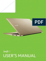 Acer Swift User Manual