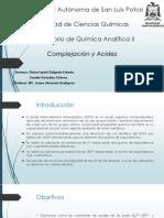 Complejación-Acidez