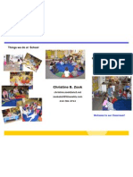 Head Start Classroom Brochure