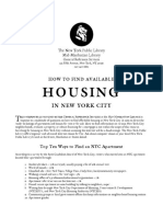 How to Find Housing in NYC
