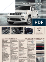 Ficha Tecnica Grand-cherokee Limited Summit 2017