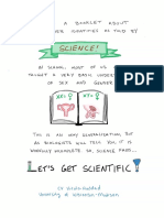 Gender as Told by Science
