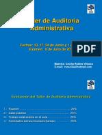 Taller de Auditoria Administrativa 2017