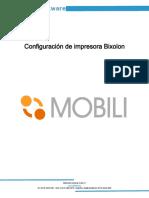 PRIZMA_Configuración Impresora Bixolon v1.0
