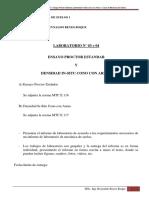Laboratorio N° 03 - 04 - Mecánica Suelos - Proctor Estandar y Cono de Arena