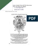 Villegas Alonso de - Fructus Sanctorum