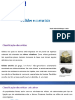 Sólidos e Materiais
