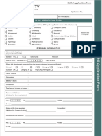MPhil Application Form 2016 2017