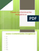 Clase  7, Gases Contaminantes Inorgánicos