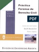 Practica Forense de Derecho Civil Area II-Derecho Civil