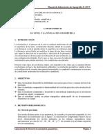 P2, El Nivel y Nivelación Geometrica T2