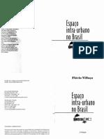Texto Espaço Intraurbano Flavio Villaça