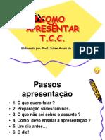 Como Apresentar Tcc - Banca II