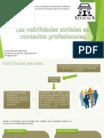 Habilidades sociales en contextos profesionales