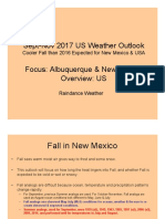 Fall 2017 Outlook