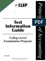 Test Accounting Principle